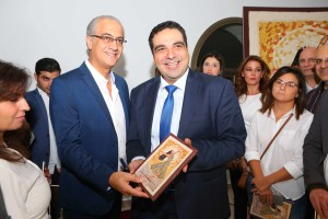 روي حرب والمنتج زياد شويري